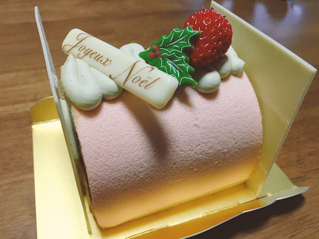 パティスリールテニエのクリスマスケーキ「プレジール」