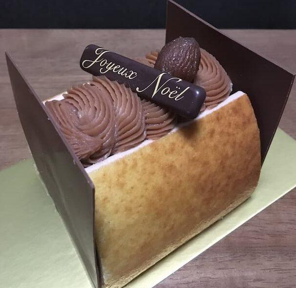 パティスリールテニエのクリスマスケーキ「ドゥスール」
