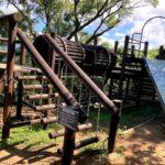 伊豆の国パノラマパークのアスレチック