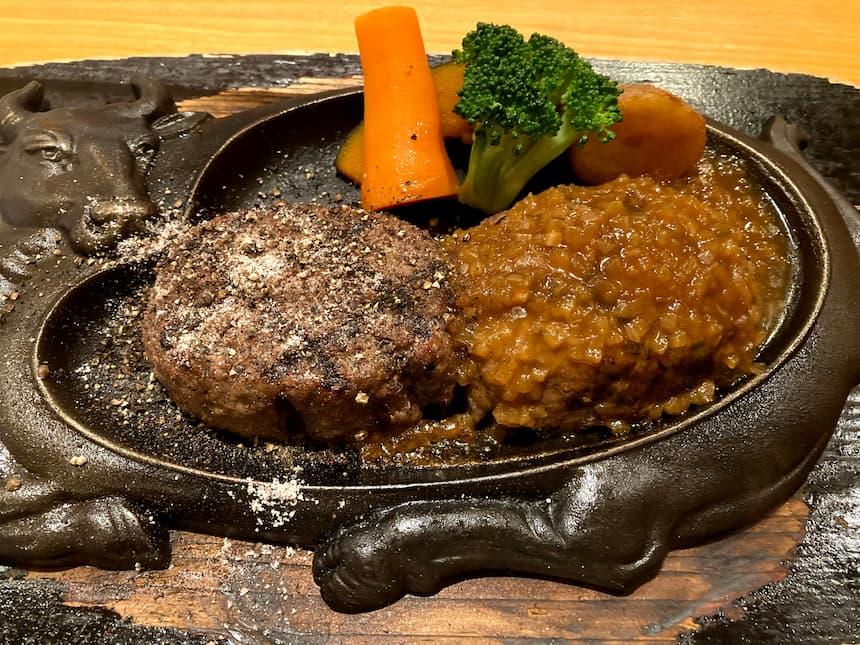 炭焼きレストランさわやかのげんこつハンバーグ