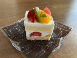 「ルルエミネット」フルーツのショートケーキ